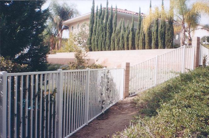 Iron Fence Vinyl Mart Depot