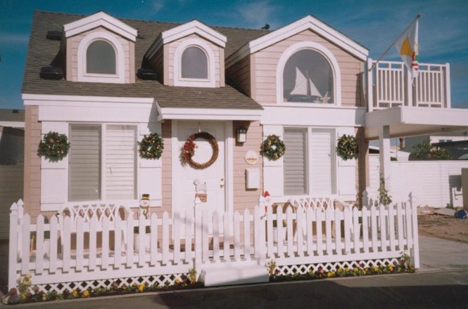 Astounding Cottage Style Vinyl Picket Fence F302E Vinyl Mart Depot Home Interior And Landscaping Ologienasavecom