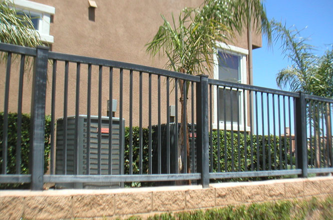 this is a vinyl fence not a grey one